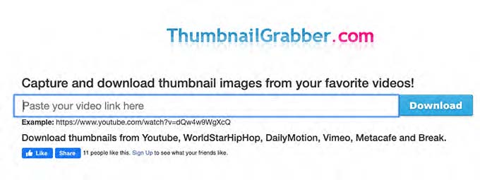 grabber home page