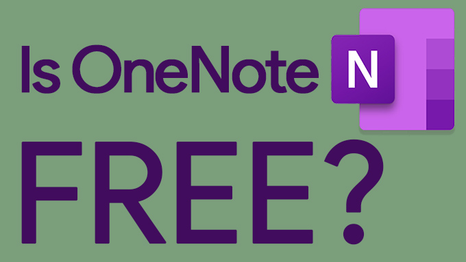 Is OneNote free