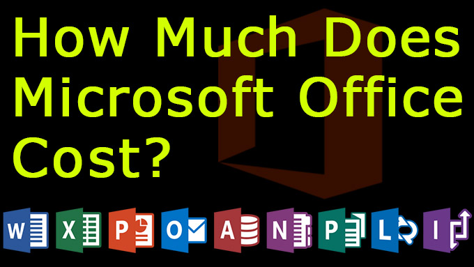 how much does microsoft office cost